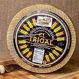 igourmet Spanish Artisan Raw-Milk Manchego Cheese DOP Aged 8 Months (7.5 ounce)