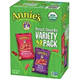 Annie's Homegrown Organic Fruit Snacks (Variety Pack, 0.8 oz (42 Pouches))