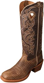 Twisted X Men's Buckaroo Cowboy Boot Square Toe