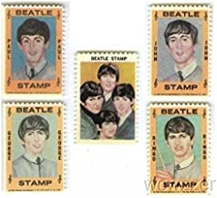1964 Hallmark BEATLES Complete 5 Piece Stamps Set Vintage Rare! Includes 1964 Hallmark Beatles Stamps of John Lennon, Paul McCartney,George Harrison,Ringo Starr and Beatles Group ! Over 50 years Old !