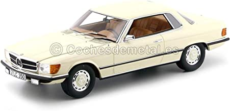 1973 Mercedes-Benz 350 SLC W107 White 1:18 Cult Scale Models CML049