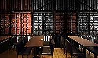 写真の壁紙レトロな金属コンテナーバーレストラン背景の壁リビングルームの壁の芸術の壁の装飾の家の装飾のための大きな壁壁画シリーズの壁紙-118.2x82.7inch/300cmx210cm