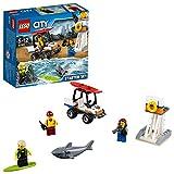 LEGO City - Guardacostas: Set de Introducción, Juguete de Construcción de Socorristas (60163)