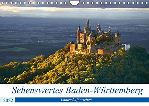 Sehenswertes Baden-Württemberg (Wandkalender 2022 DIN A4 quer)