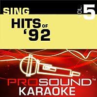 Sing Hits Of '92 Vol. 5 [KARAOKE]