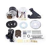 Kit de conversión para bicicleta eléctrica DIY, motor de cepillo de 36 V CC 350 W con rueda libre, kit de conversión de bicicleta eléctrica.