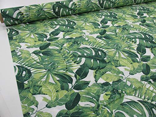 Confección Saymi Metraje 0,50 MTS Tejido loneta Estampada Ref. Selva Verde, Doble Ancho 2,80 MTS.