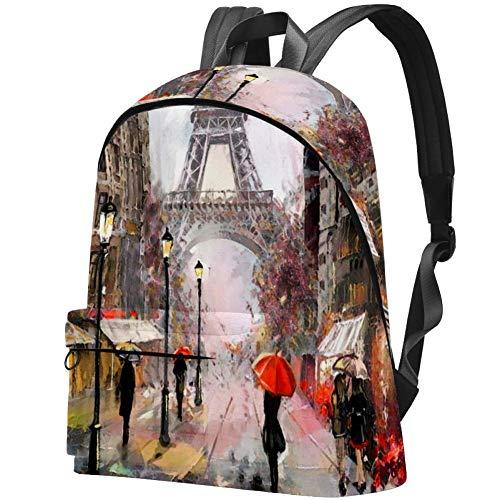 Bennigiry Rucksack mit Drachen und goldfarbenen Rosen Bedruckt Teenager Studenten Büchertasche Leichter Reiserucksack für Mädchen Mehrfarbig4 Einheitsgröße