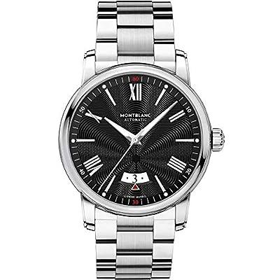 Montblanc Men's 4810 42mm Steel Bracelet & Case Automatic Analog Watch 115935