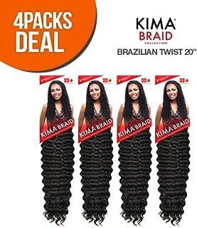 Harlem125 Synthetic Hair Braids Kima Braid Brazilian Twist 20