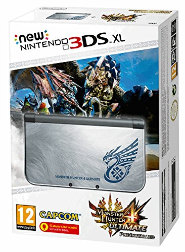 New Nintendo 3DS XL silber inkl. Monster Hunter 4 Ultimate