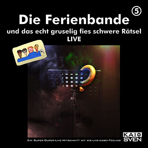Die Ferienbande und das gruselig fies schwere Rätsel - LIVE     Die Ferienbande 5              By:                                                                                                                                 Die Ferienbande                               Narrated by:                                                                                                                                 div.                      Length: 1 hr and 42 mins     Not rated yet     Overall 0.0