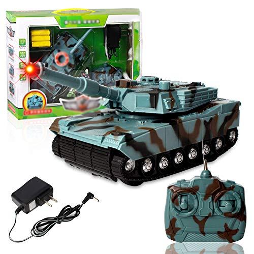 LYXCM Tanque controlado a Distancia, Modelo eléctrico de Carga del Coche 360...