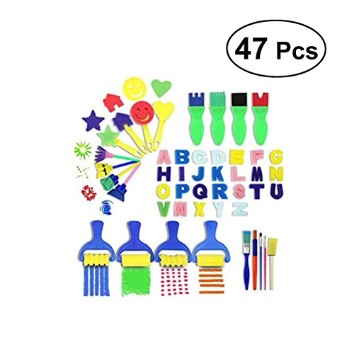 Rosenice niños Kits pintura aprendizaje juego brochas