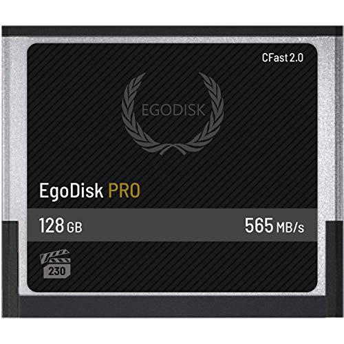 EgoDisk PRO 128GB CFast 2.0 scheda