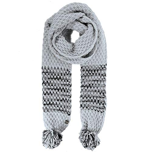 Regatta Frosty III' Knitted Pom Scarf Couvre-Chef Femme, Light Steel, SGL