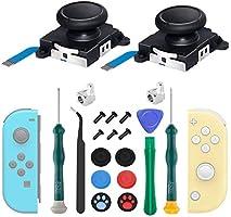 Reemplazo de Joystick JoyCon de 2 Piezas, Joystick Analógico 3D Para Nintendo Switch, Kit de Reparación de Piezas de...