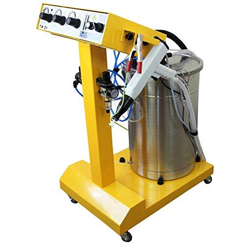 Monstershop Elektrostatische Pulverbeschichtung-Maschine Pulverbeschichtung Pulverbeschichtungsanlage Pulverbeschichten Lackieren Pulverpistole Lackierpistole