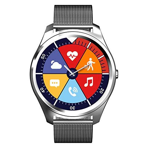 JHMAOYI New Bluetooth Smart Watch Heart Rate Monitor Sports Pedometer Phone Watch