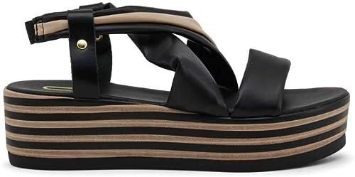 Andrea Conti 0027017 Damen Slipper Leder Halbschuhe Sneaker