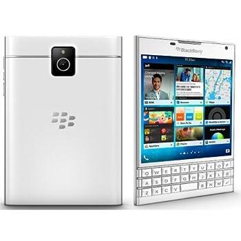 BlackBerry Passport Factory Unlocked Cellphone 4.5  32GB 13MP  White  - International Version No Warranty