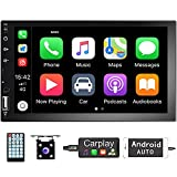 Hodozzy Double Din Car Stereo with Apple...
