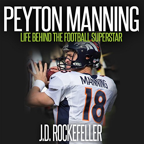 Peyton Manning audiobook cover art