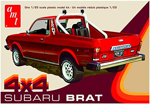 1978 Subaru Brat 4x4 Pickup 1:25 AMT Model Kit Bausatz AMT1128