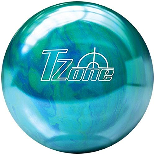 Brunswick Bowlingball TZone Caribbean Blue Cosmic in Allen Gewichten Größe 9 LBS