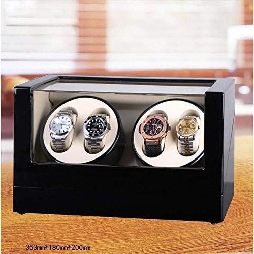 IREANJ Caja de relojes de embalaje automático de reloj Winder reloj rotador caja de visualización automática caja de reloj devanadera caja compatible con Rolex