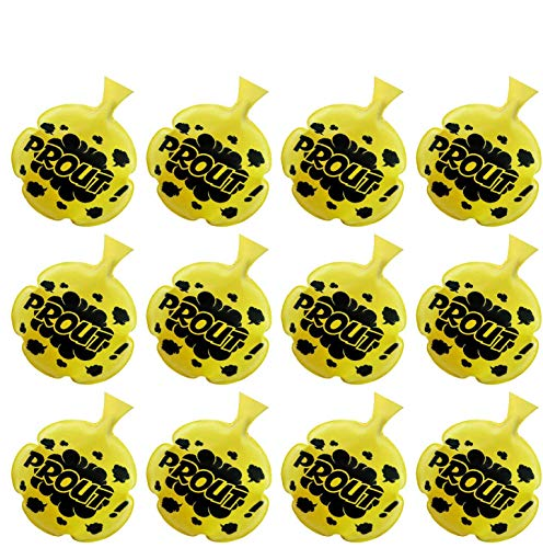 [12 Pack]Whoopie Cushion,4 Inches Whoopee Cushion Novelty Toys Party Favors for Kids,Boys,Girls and Adults