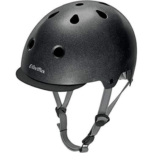 Electra Bike und Skate Helm 'Graphite Reflective' Solid Color Helmet, Größe (Kopfumfang):55-58 cm