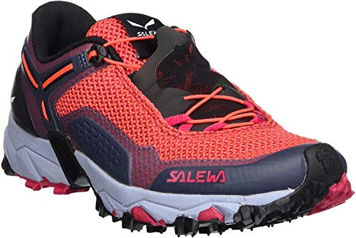 Salewa MS Wildfire Gore-TEX, Chaussures de trekking et de randonnée Homme, Noir (Black Out/Mimosa), 44.5 EU
