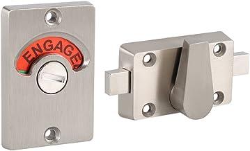 Deurslot Indicator Rvs Privacy Bout Badkamer Openbare Toilet Lock Klink Vacant Engaged + Schroeven
