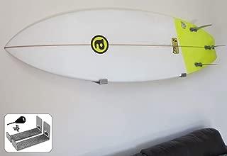 BPS Minimalist Board Wall Racks for Surfboard or Longboard - Choose Color and Bundle