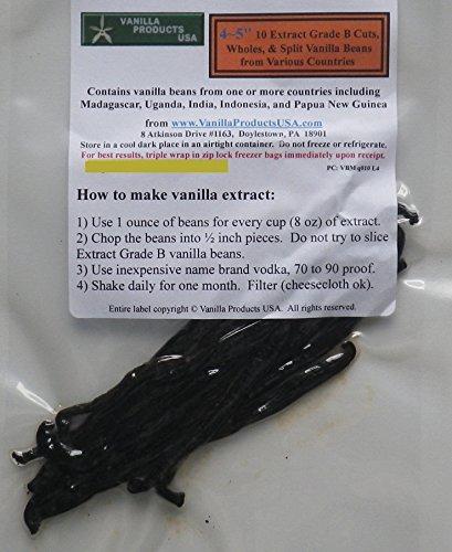 Vanilla Products USA 10 Extract Grade B Vanilla...