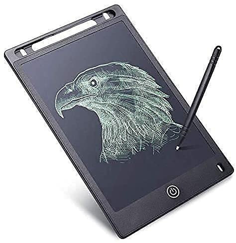 KBR® Writing pad for Kids 8.5 inch Display with Quick Erase Button Graphic Tablet (Multi Color)