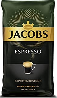 Jacobs Espresso Whole Bean Coffee 500 Gram / 17.6 Ounce (Pack of 1)