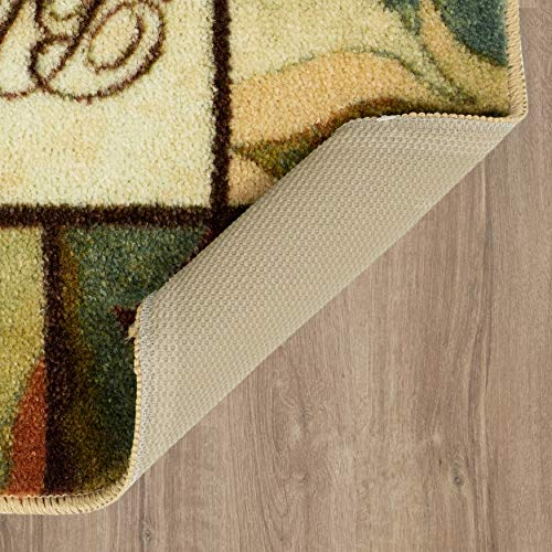 Mohawk Home New Wave Rules Home Door Mat, 3 PC Set 20'
