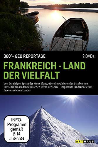 360° - GEO Reportage: Frankreich - Land der Vielfalt [2 DVDs]