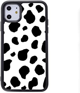 Haojiarui Cow Print for iphone 12 case iphone 12 Pro case 6.1 inch fashion mobile phone case compatible with MagSafe wirel...