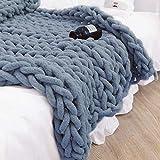 DIY Wolle Garn Wolle Roving Häkeln für Klobig Sticken Werfen Sofa Decke Bulky Armstricken Hand Chunky Strickdecke Decke Garn