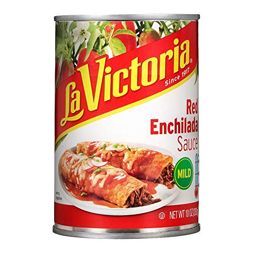 La Victoria Traditional Red Enchilada Sauce Mild, 10 Ounce (Pack of 12)