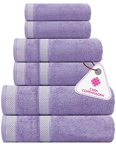 Casa De Rococo 12 Piece Face Towels Set White Color Highly Absorbent and Soft Feel Fingertip Face Towels Sizes 30 x 30 cm Pure Cotton