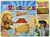 Dinosaurus Chocolate Blanco Caja de Galletas - 352 gr