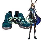 【タママ】アークナイツ 明日方舟 Arknights アクナイ AMIYA アーミヤ コスプレ靴 コスプレブーツ コスプレ衣装 オーダーサイズ/スタイル 製作可能(26.5cm)