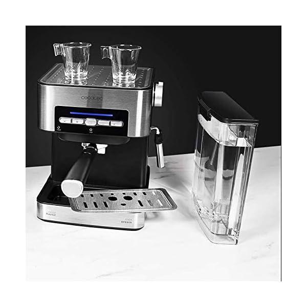 Cecotec Cafetera Express Digital Power Espresso Matic para Espresso y Cappuccino,