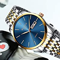 QTMIAO美しい機械式時計 2018メンズ腕時計クォーツ腕時計メンズ腕時計 (Color : 7)