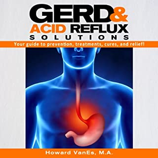 GERD and Acid Reflux Solutions audiobook cover art