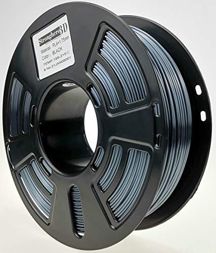 Stronghero3D desktop fdm 3d drucker filament pla dunkel grau1.75mm 1kg (2.2 lbs) dimension genauigkeit von + / -0.05mm für Ender3 Cr10